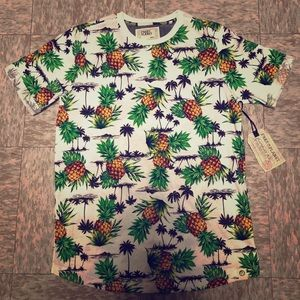 Free Planet Pineapple T-Shirt